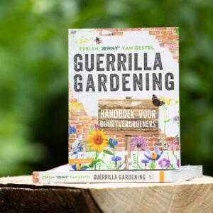Duurzaam tuinieren met het handboek Guerrilla Gardening